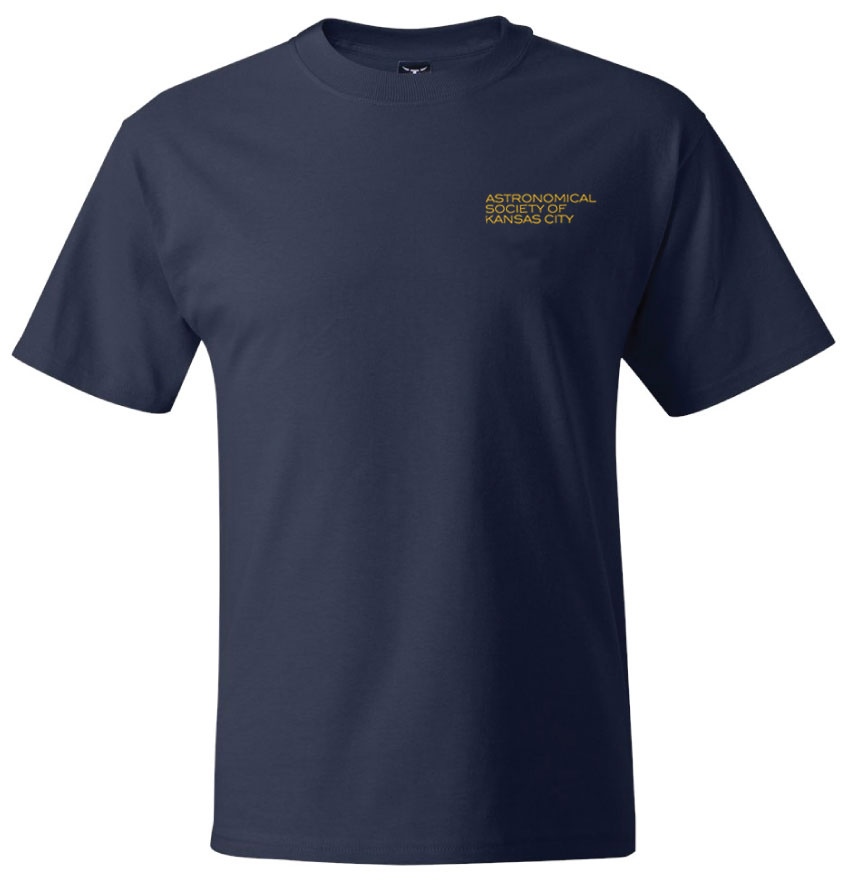 ASKC Logo Short-Sleeve Plain Front T-Shirt